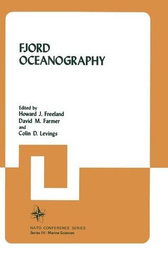 Fjord Oceanography (Nato Conference Series) - Howard Freeland