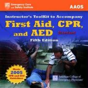 Itk- First Aid, CPR, AED Stand 5e Instructor's Toolkit - Aaos