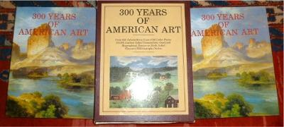 300 Years of American Art. Volume I and II. Over 820 Artists, More Than 1020 Colour Plates, 40000 auction Sales Transactions Analyzed. Biographical Essays on each Artist. Glossary/Bibliography/Index. - Michael David Zellman