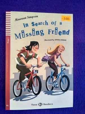 In search of a missing friend (+cd) - Maureen Simpson