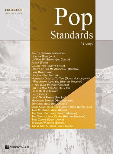 VARIOS - Pop Standards Collection (24 Canciones) (PVG) - VARIOS