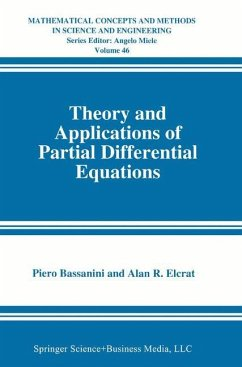 Theory and Applications of Partial Differential Equations - Bassanini, Piero Elcrat, Alan R.