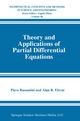 Theory and Applications of Partial Differential Equations - Piero Bassanini; Alan R. Elcrat