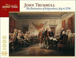 John Trumbull: The Declaration of Independence, July 4, 1776 1000 Piece Jigsaw Puzzle