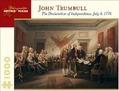 The Declaration of Independence July 4 1776 1000-Piece Jigsaw Puzzle Aa676 - John Trumbull