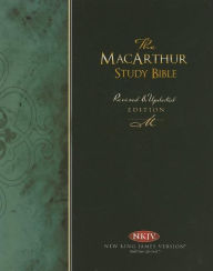 The MacArthur Study Bible: New King James Version (NKJV), Burgundy Bonded Leather, Thumb-Indexed - John MacArthur