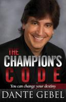 Champion's Code: You Can Change Your Destiny