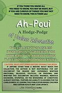 Ah-Poui: A Hodge-Podge of Useless Information