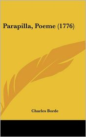 Parapilla, Poeme (1776)