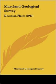 Maryland Geological Survey: Devonian Plates (1913) - Maryland Geological Survey