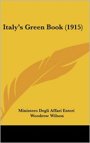 Italy's Green Book (1915)
