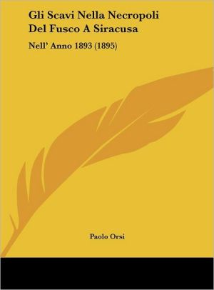 Gli Scavi Nella Necropoli Del Fusco A Siracusa: Nell' Anno 1893 (1895)