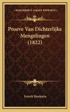 Proeve Van Dichterlijke Mengelingen (1822)