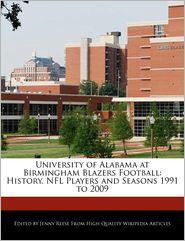 University Of Alabama At Birmingham Blazers Football - Jenny Reese
