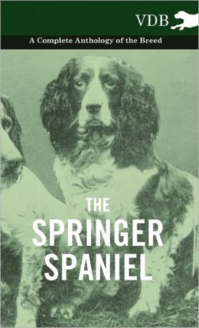 The Springer Spaniel - A Complete Anthology of the Breed - Various