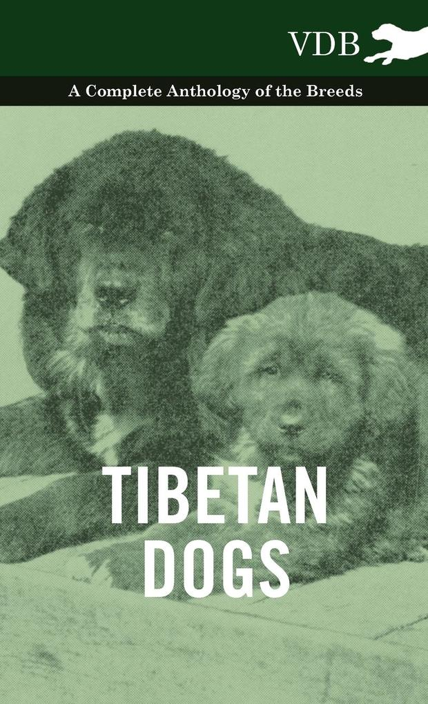 Tibetan Dogs - A Complete Anthology of the Breeds als Buch von Various - Vintage Dog Books