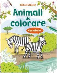 Animali da colorare. Con adesivi - Greenwell Jessica
