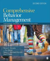 Comprehensive Behavior Management: Individualized, Classroom, and Schoolwide Approaches - Martella, Ronald C. / Nelson, J. Ron / Marchand-Martella, Nancy E.