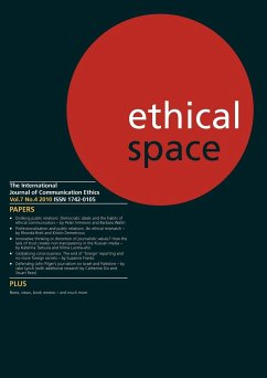 Ethical Space Vol.7 Issue 4 - Herausgeber: Keeble, Richard Matheson, Donald