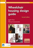 Wheelchair Housing Design Guide: 2nd Edition (Ep 70)