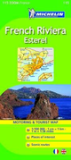French Riviera. Esterel. 1:100.000. Ediz. italiana e inglese