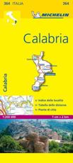 Michelin Map Italy: Calabria 364 - Michelin Travel Publications (COR)