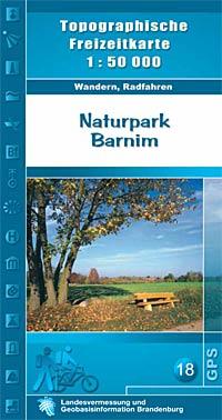 Topografische Freizeitkarte Naturpark Barnim - Landesvermessung und Geobasisinformation Brandenburg