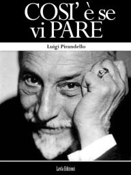Cosi Luigi Pirandello Author