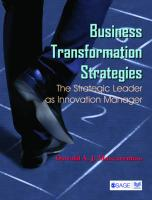 Business Transformation Strategies