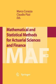 Mathematical and Statistical Methods for Actuarial Sciences and Finance - Claudio Pizzi