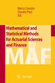 Mathematical and Statistical Methods for Actuarial Sciences and Finance - Marco Corazza