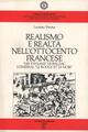 Realismo e realtà nell'Ottocento francese. «Les paysans» di Balzac, Stendhal «Le rouge et le noir»