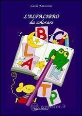 L' alfalibro da colorare - Mannino Carla