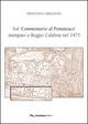 Sul «commentario al pentateuco» stampato a Reggio Calabria nel 1475