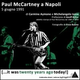 Paul McCartney a Napoli 5 giugno 1991