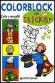Colorblock. Fate e maghi. Con stickers
