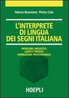 L'interprete di lingua dei segni italiana