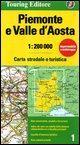 Piemonte / Val d' Aosta 1 tci (r) wp: TCI.R01: No. 1 (Regional Road Map)