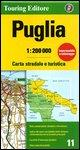 Apulia 11 tci (r) wp (Regional Road Map)