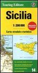 Sicily 14 tci (r) wp: TCI.R14: No. 14 (Regional Road Map)
