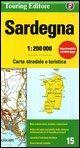 Sardinia: TCI.R15 (Regional Road Map)