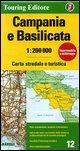 Campania e Basilicata: TCI.R12 (Regional Road Map)