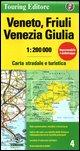 Veneto, Friuli, Venezia, Giulia: TCI.R04 (Regional Road Map)