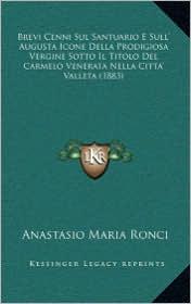 Brevi Cenni Sul Santuario E Sull' Augusta Icone Della Prodigiosa Vergine Sotto Il Titolo Del Carmelo Venerata Nella Citta' Valleta (1883)