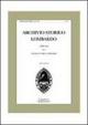 Archivio storico lombardo. Giornale della società storica lombarda (2011). Vol. 16