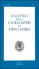 Bollettino della Società pavese di storia patria