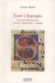 Essere e linguaggio. Una lettura della terza parte di «Verità e metodo» di H. G. Gadamer (Bildung. Mater. e studi sulla formazione)