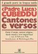 Cantones e versos