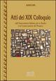 Atti del 19º Colloquio dell'associazione italiana per lo studio e la conservazione del mosaico
