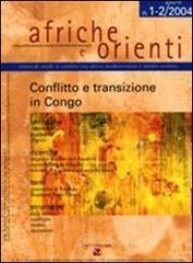 Afriche e Orienti (2004) vol. 1-2: Conflitto e transizione in Congo